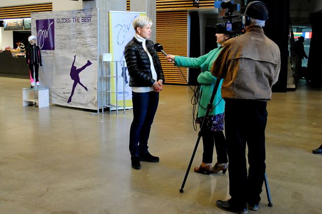 Latvian skaters grabbed the Icestar Cup Grand Prix's