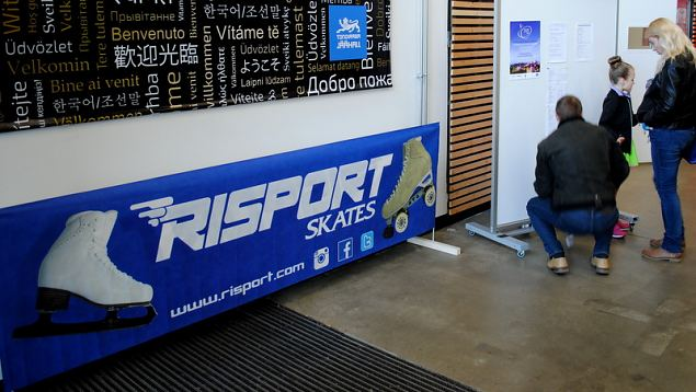 Icestar Cup is sponsored by Risport Skates