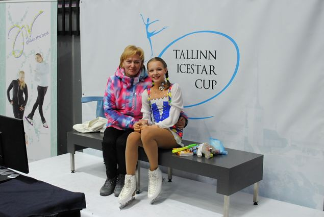 Katryna BIRGELAITE and Loreta Vitkauskaite from SC Baltuainai Lithuania, 3rd place at Advanced Nov