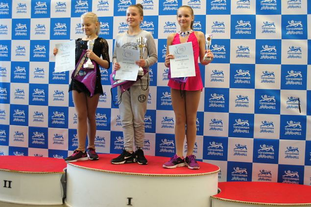 Tallinn Icestar Cup Second Grand Prix have been appointed respectively to Alina Uruzadze (LAT).A